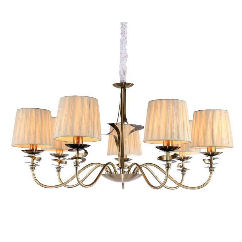 Подвесной светильник Omnilux OML-63603-07, E14, 40 Вт подвесная люстра grottole oml 63603 05