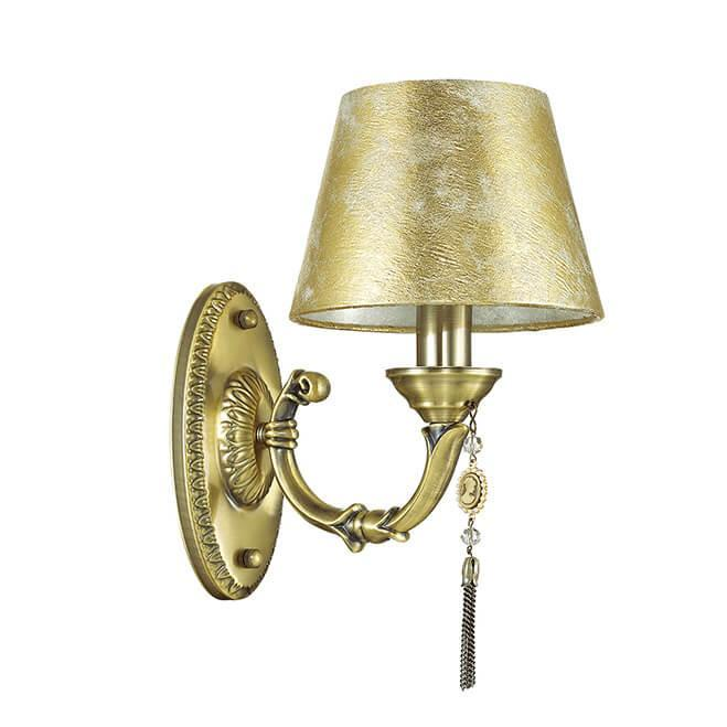 Бра Odeon Light 3413/1W, E14, 40 Вт odeon light 2633 1w odl14 737 зел син желтый бра с выкл e14 40w 220v trolo