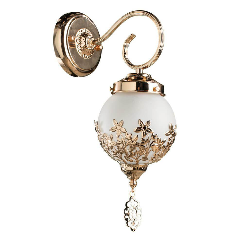 Бра Arte Lamp A4552AP-1GO, E14, 40 Вт цена