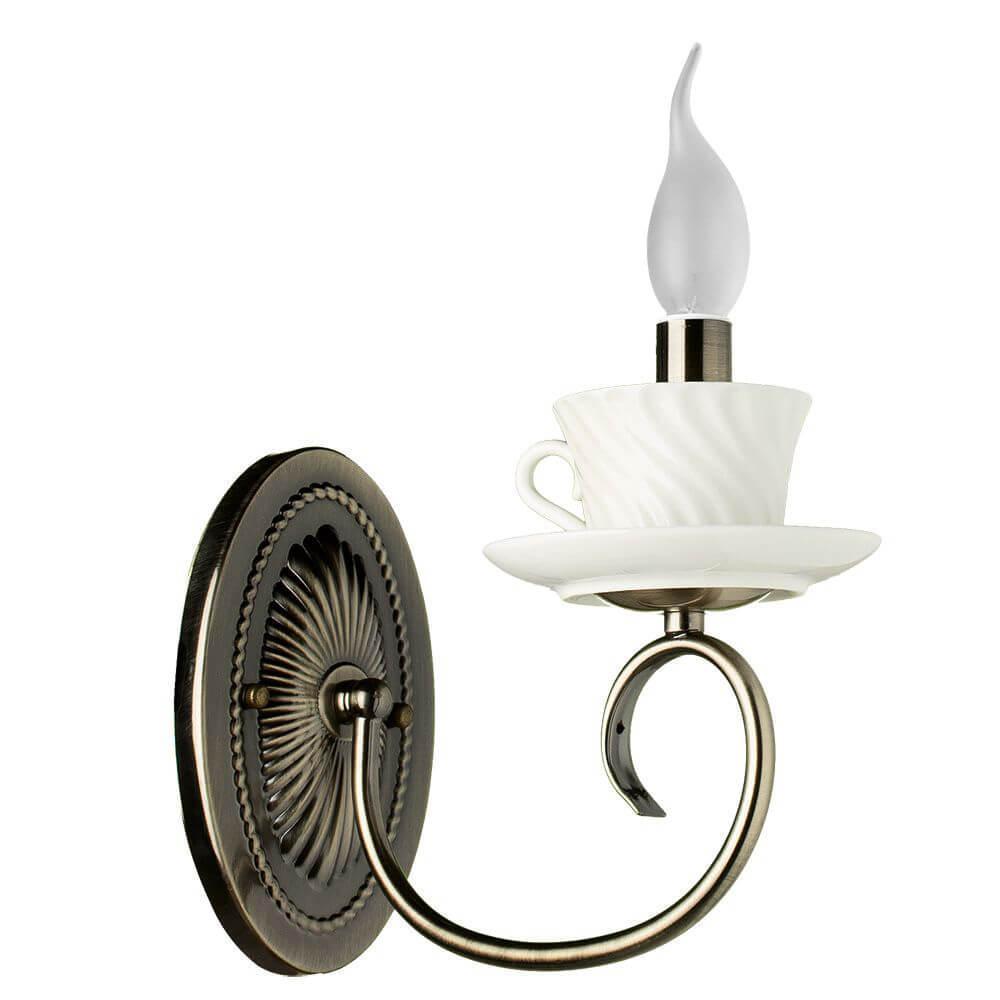 Бра Arte Lamp A6380AP-1AB, E14, 40 Вт
