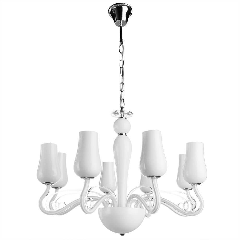 Подвесной светильник Arte Lamp A8110LM-8WH, E14, 40 Вт arte lamp подвесная люстра arte lamp odetta a7195lm 8wh