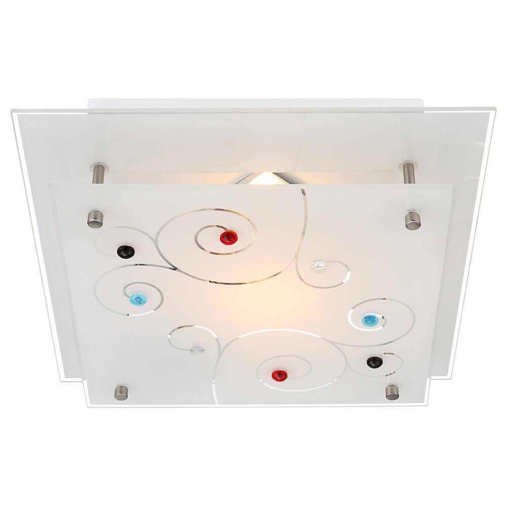 Накладной светильник Globo 48140-1, E27, 40 Вт накладной светильник globo claire 48077