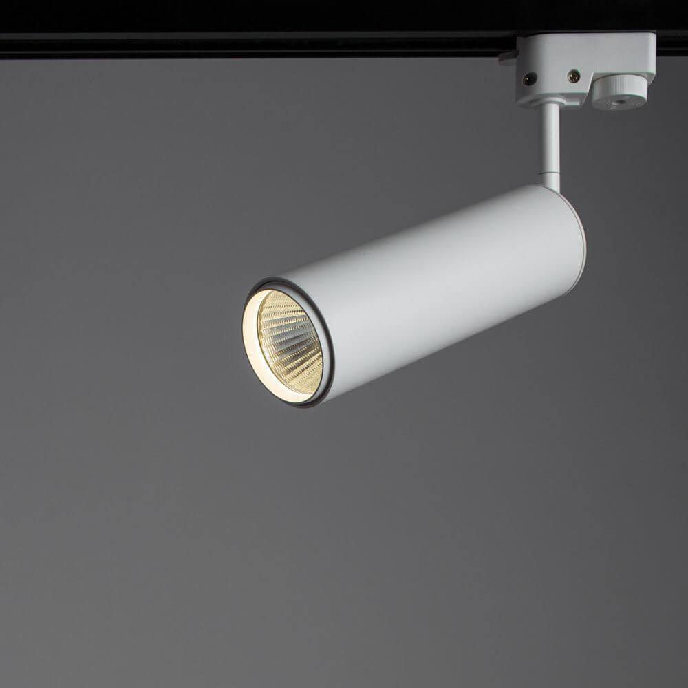 Трековый светильник Arte Lamp A1412PL-1WH, LED, 12 Вт Arte Lamp