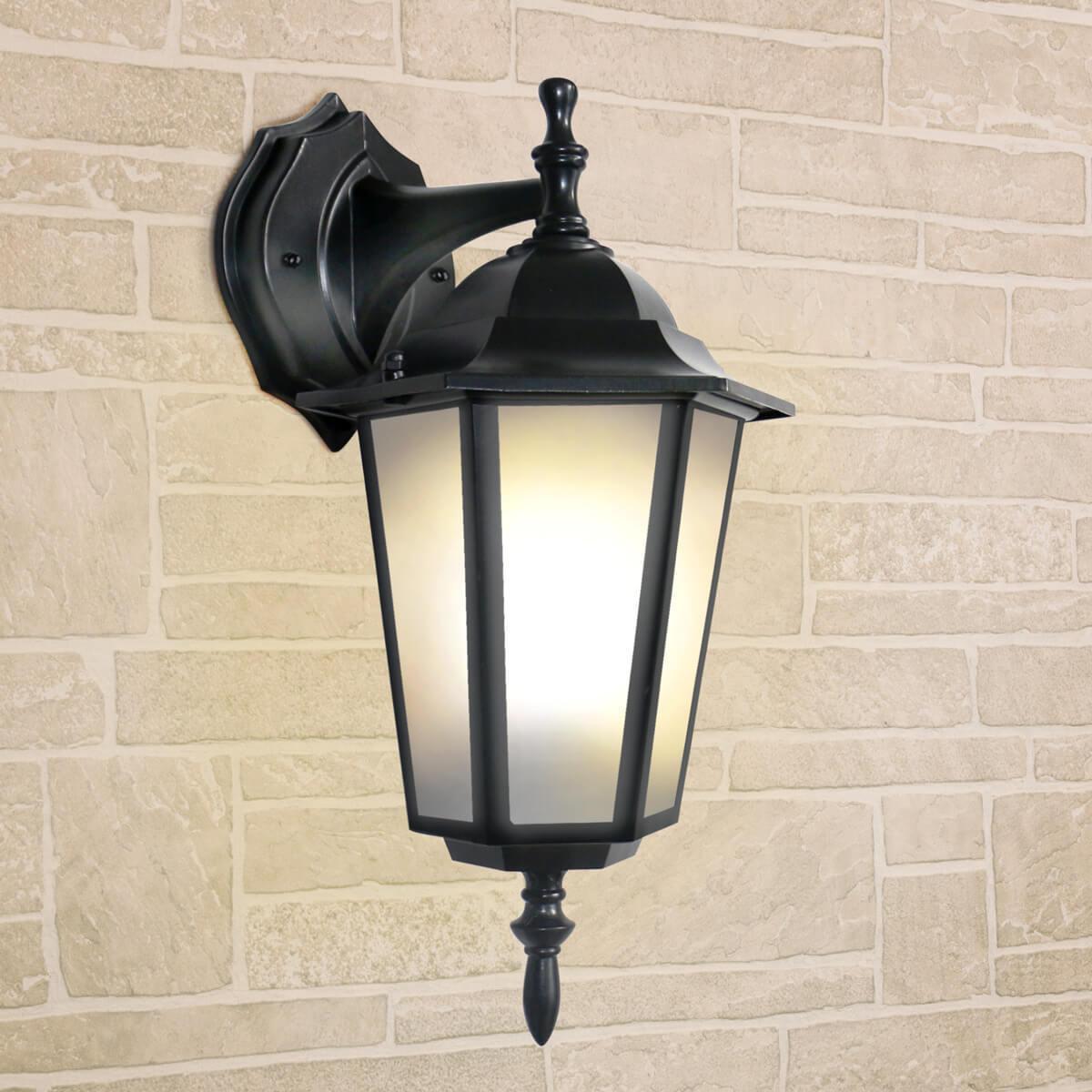 Уличный светильник Elektrostandard 4690389085697, E27 уличный настеный светильник elektrostandard 1004d черный 4690389085697