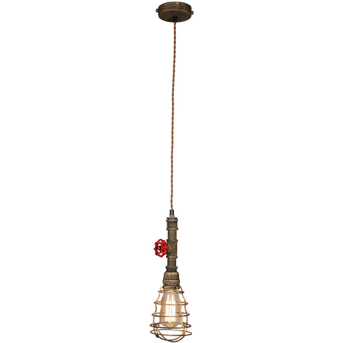Подвесной светильник Omnilux OML-90516-01, E27, 60 Вт