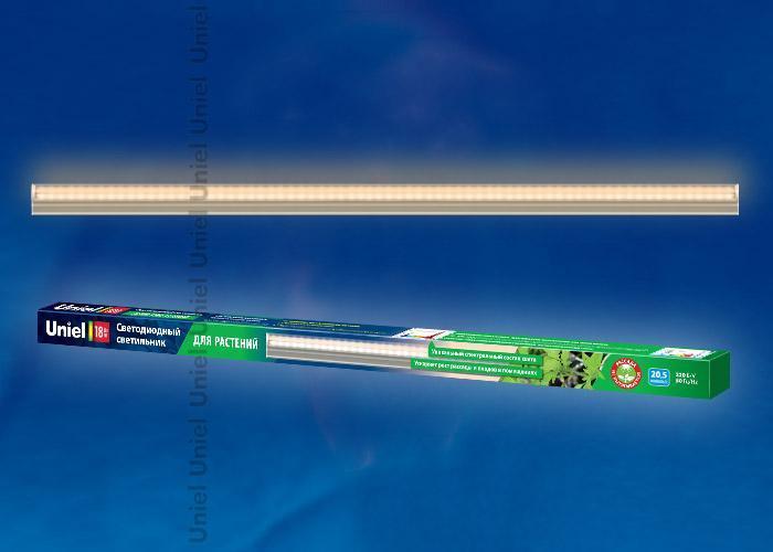Декоративный светильник Uniel ULI-P10-18W/SPFR IP40 Silver, LED, 18 Вт светодиодный фитосветильник uniel uli p10 18w spfr ip40 white