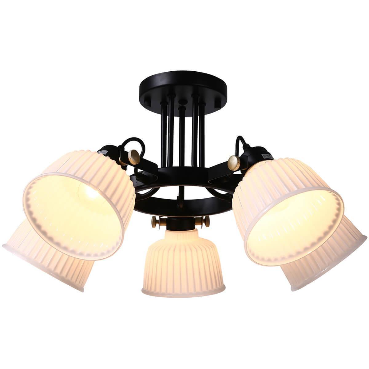 Потолочный светильник Omnilux OML-28207-05, E14, 40 Вт