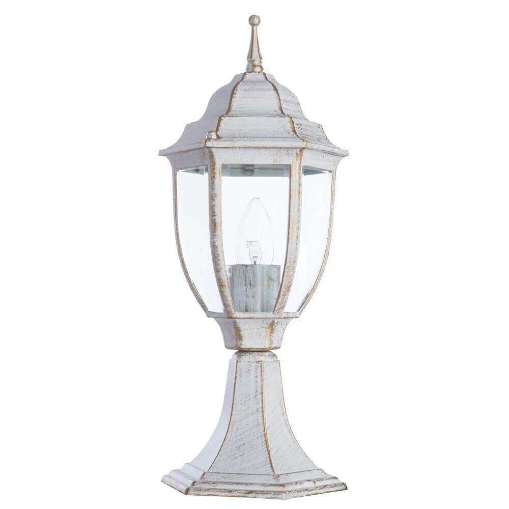 Уличный светильник Arte Lamp A3151FN-1WG, E27 уличный светильник arte lamp amsterdam a1523pa 1wg