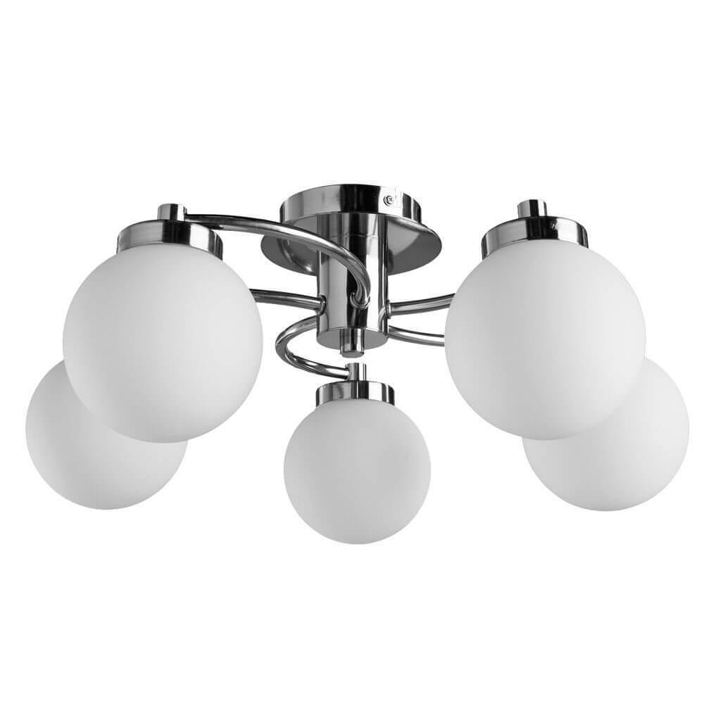 Потолочный светильник Arte Lamp A8170PL-5SS, E14, 40 Вт цена