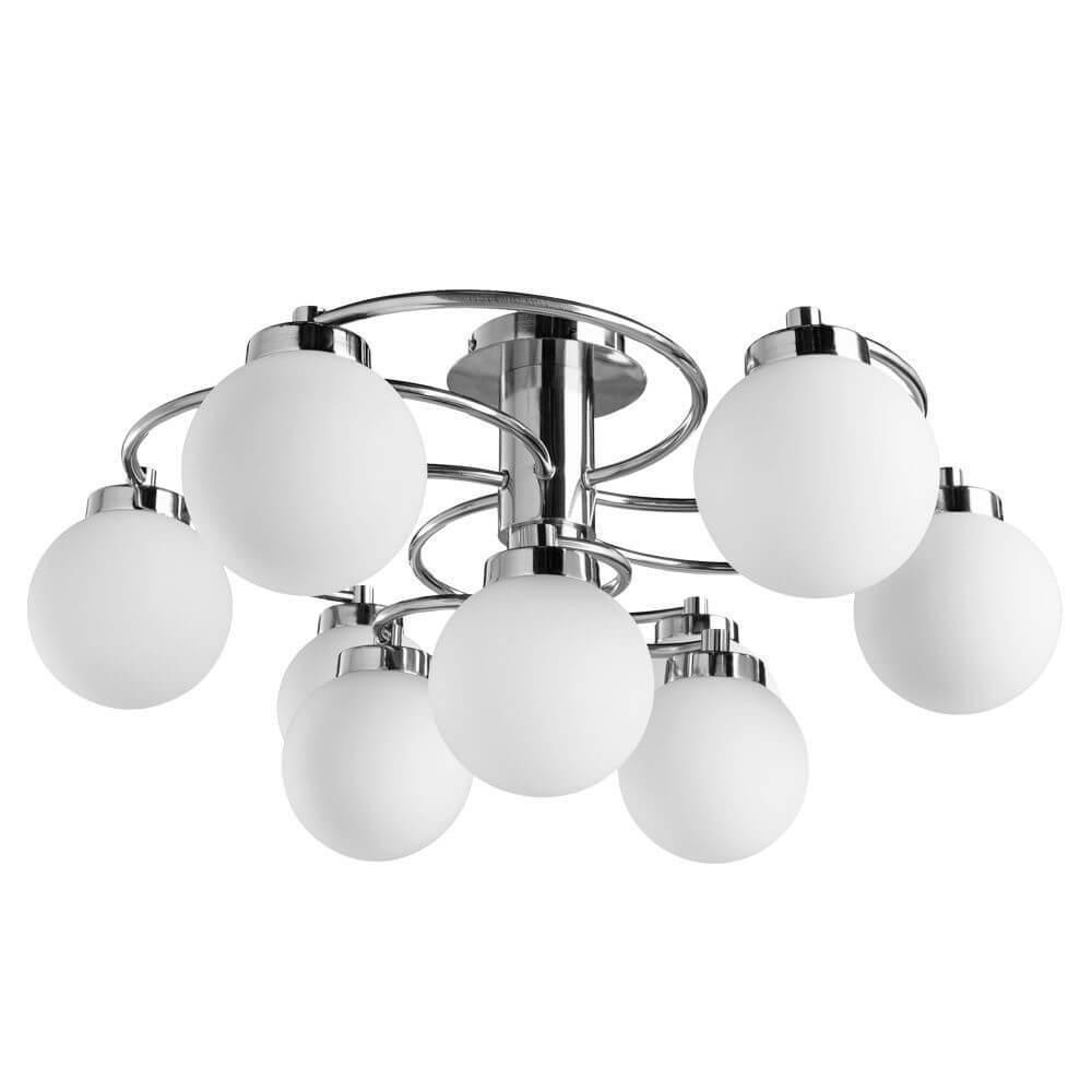 Потолочный светильник Arte Lamp A8170PL-9SS, E14, 40 Вт цена