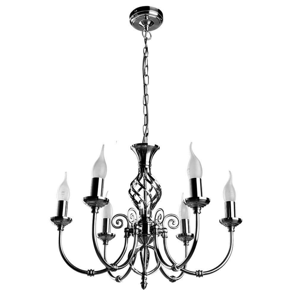 Подвесной светильник Arte Lamp A8392LM-6SS, E14, 60 Вт