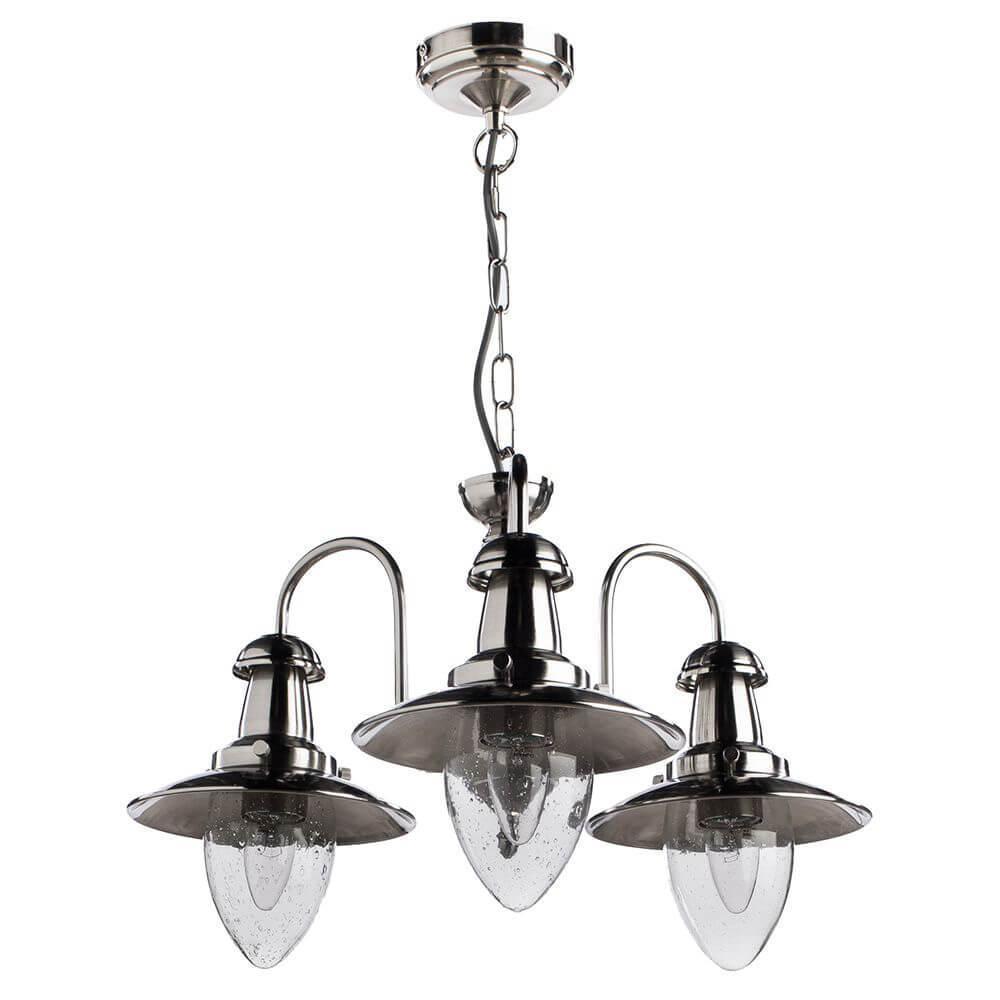 Подвесной светильник Arte Lamp A5518LM-3SS, E27, 60 Вт все цены