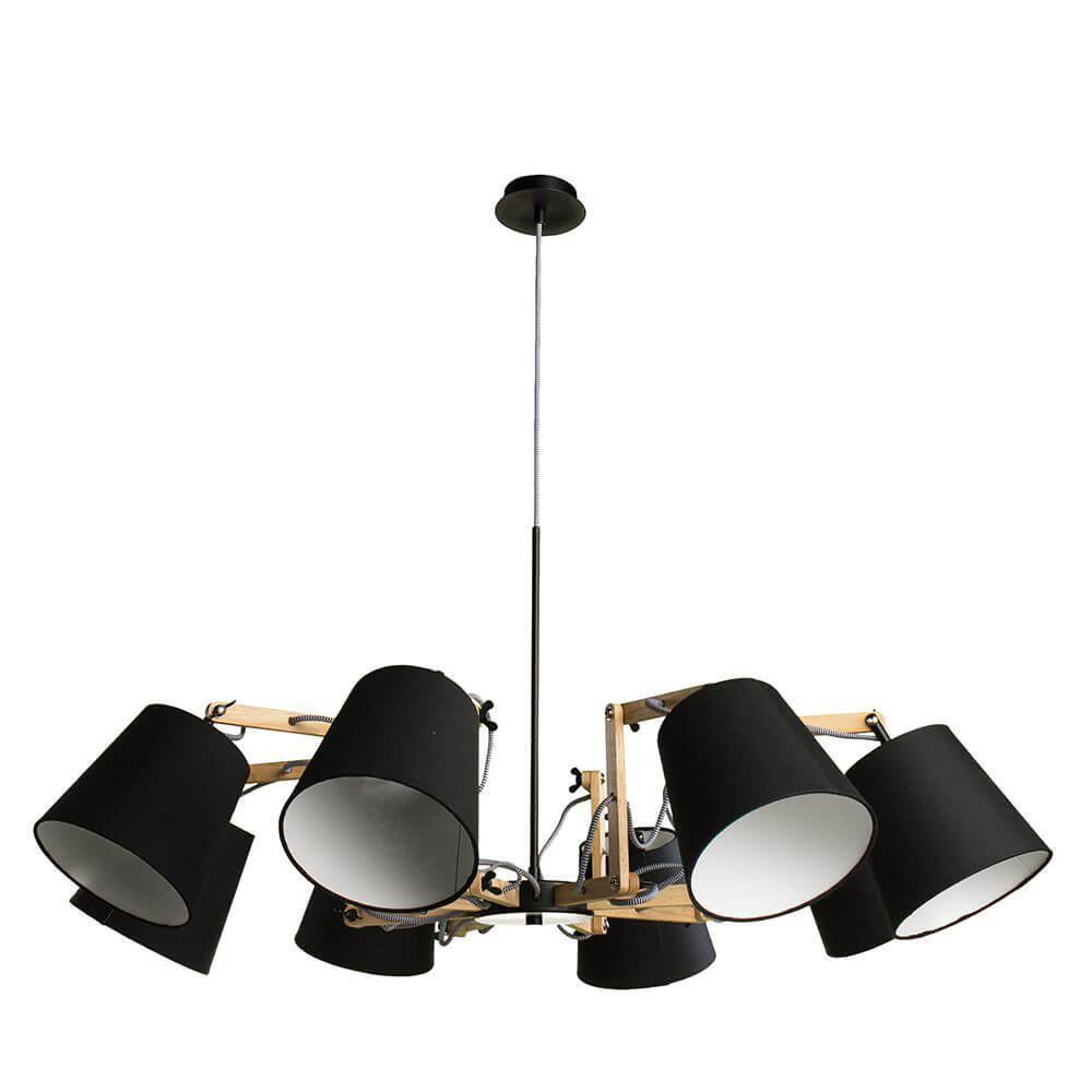 Подвесной светильник Arte Lamp A5700LM-8BK, E14, 40 Вт arte lamp люстра arte lamp a6586lm 8bk