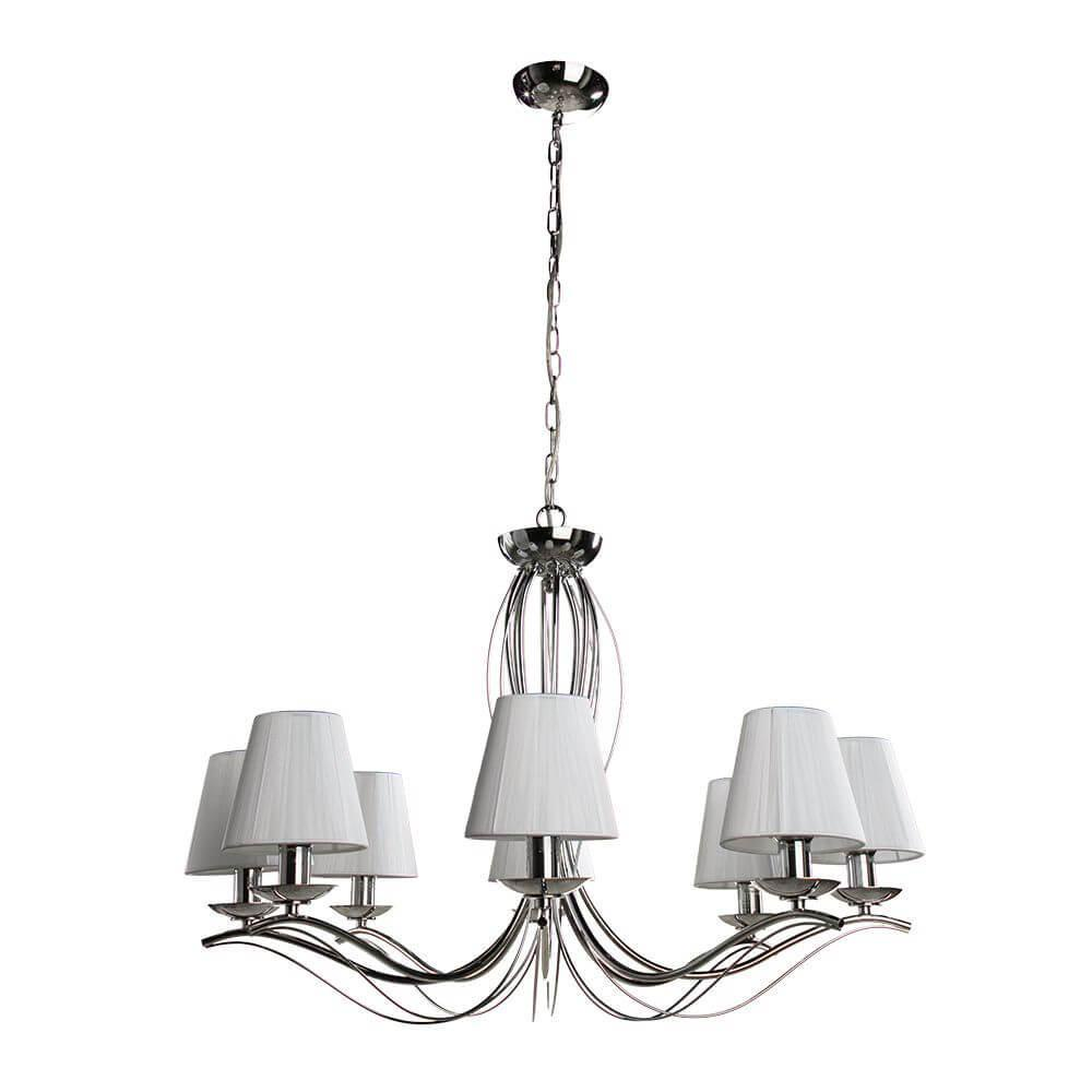 Подвесной светильник Arte Lamp A9521LM-8CC, E14, 40 Вт