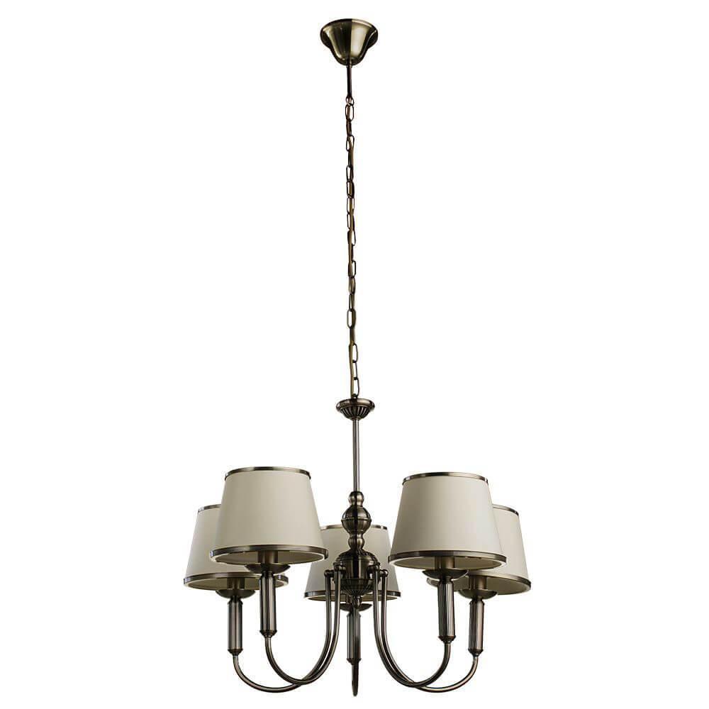 Подвесной светильник Arte Lamp A3579LM-5AB, E14, 40 Вт arte lamp alice a3579lm 3ab