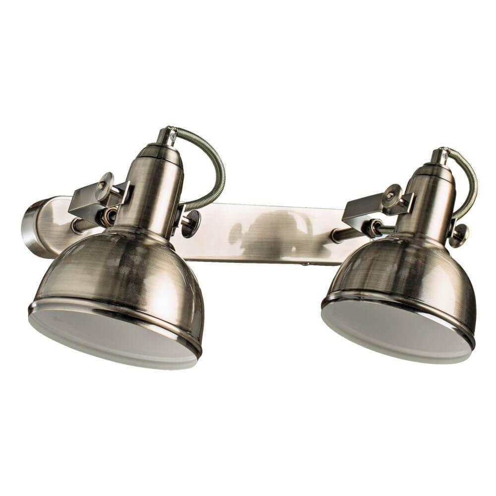 Спот Arte Lamp A5213AP-2AB, E14, 40 Вт