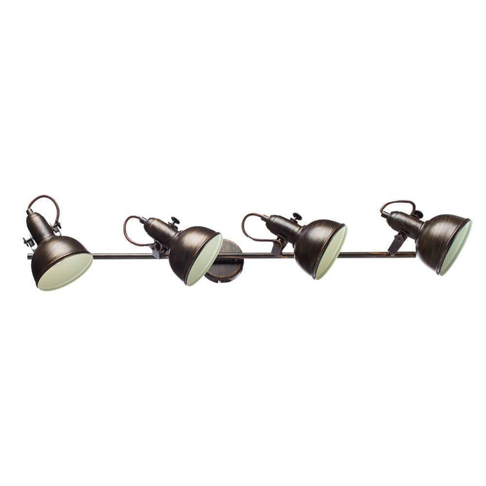 Спот Arte Lamp A5215PL-4BR, E14, 40 Вт arte lamp спот arte lamp martin a5215pl 4ab