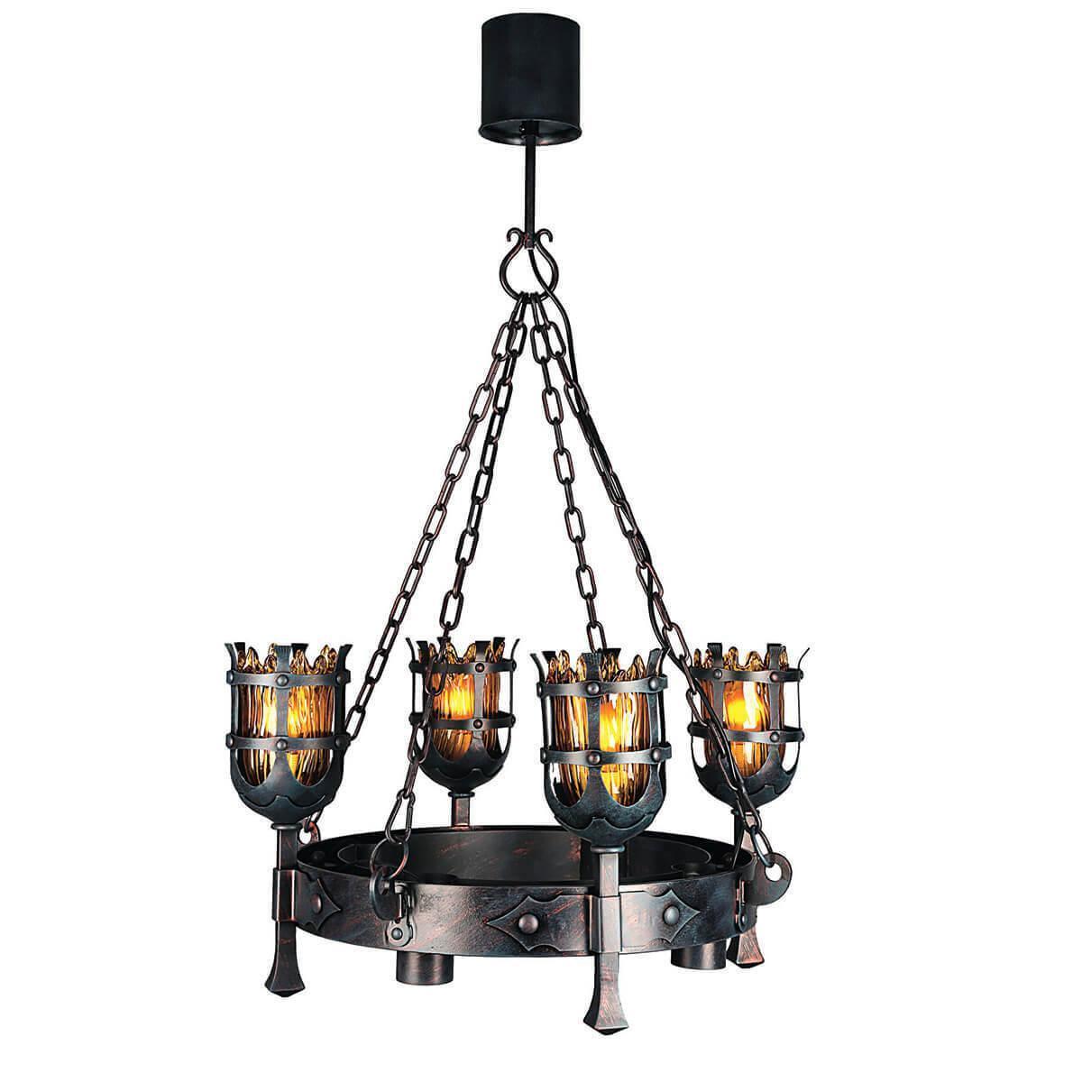 Подвесной светильник Omnilux OML-50003-08, E27, 60 Вт