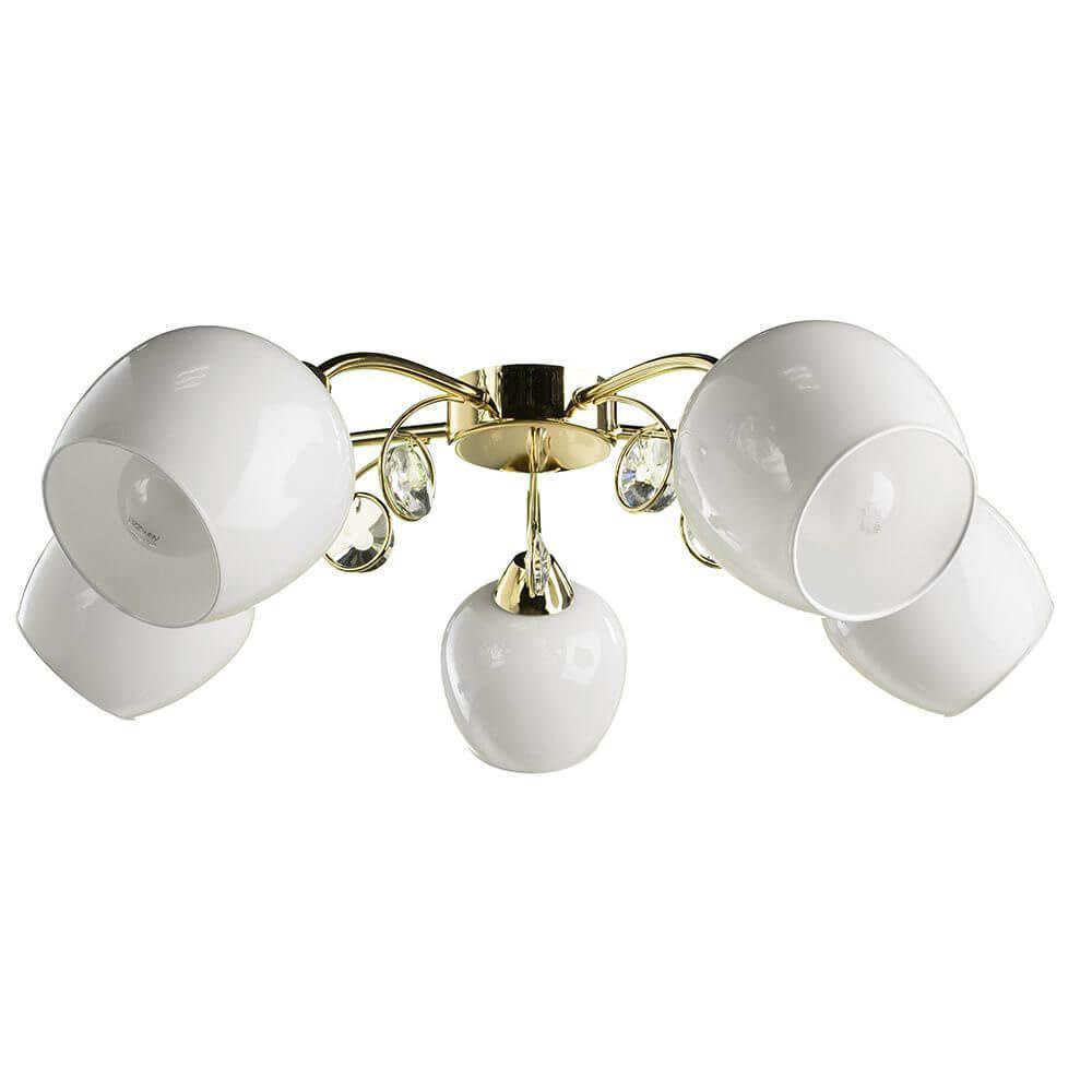 Потолочный светильник Arte Lamp A9549PL-5GO, E27, 60 Вт