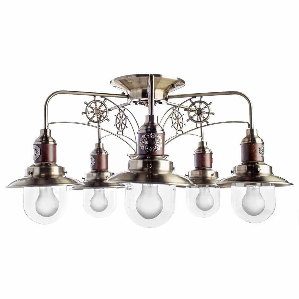 Потолочный светильник Arte Lamp A4524PL-5AB, E27, 60 Вт цена 2017
