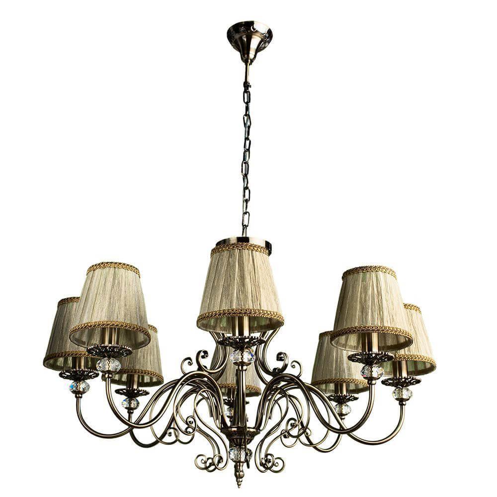 Подвесной светильник Arte Lamp A2083LM-8AB, E14, 60 Вт цена 2017