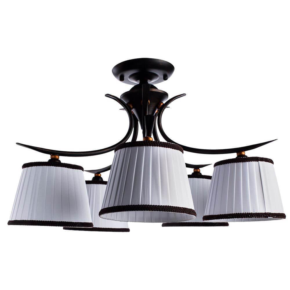 Потолочный светильник Arte Lamp A5133PL-5BR, E14, 40 Вт люстра artelamp irene a5133lm 5br