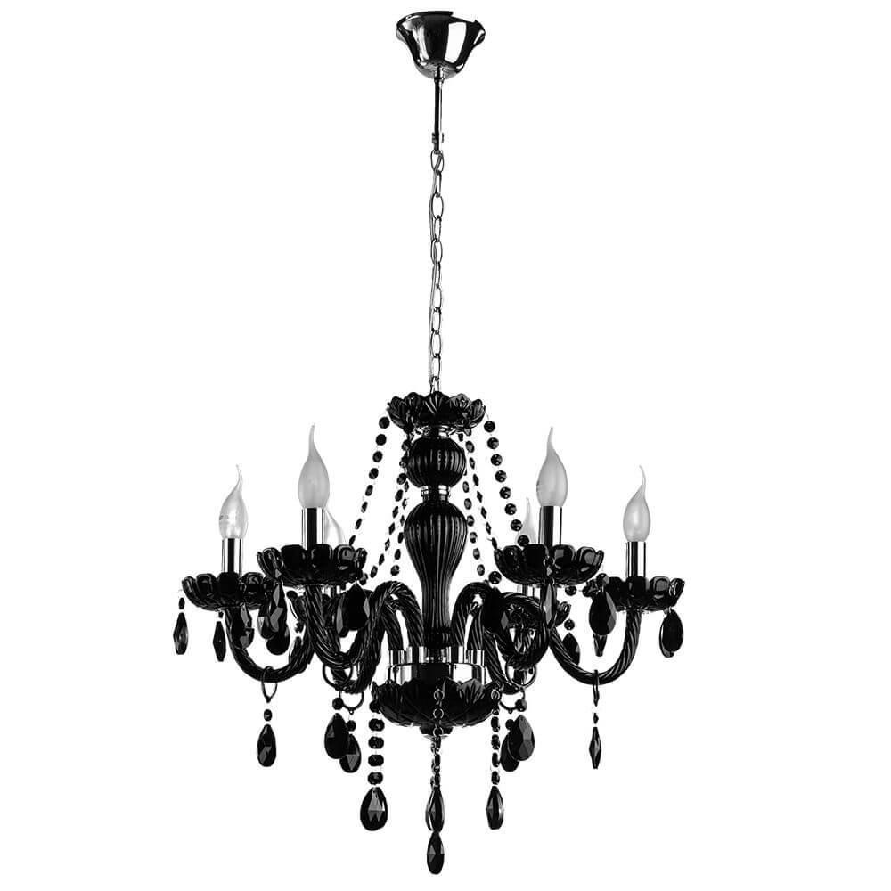 лучшая цена Подвесной светильник Arte Lamp A3964LM-6BK, E14, 60 Вт