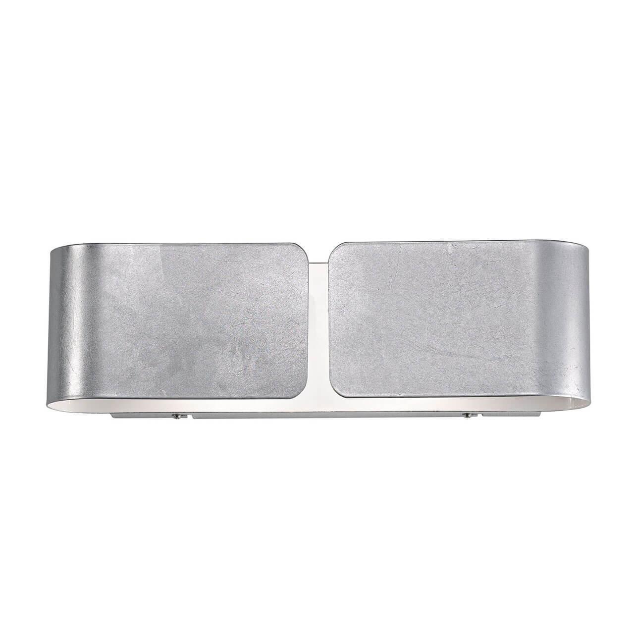 Фото - Настенный светильник Ideal Lux Clip AP2 Mini Argento, G9, 40 Вт потолочный светильник ideal lux pl6 g9 max 6 x 40w g9 вт