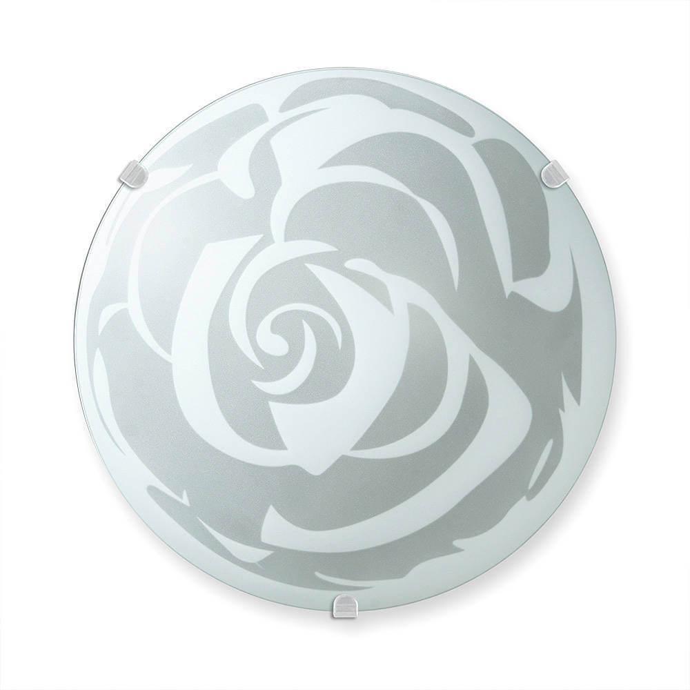 Настенно-потолочный светильник Vitaluce V6018/1A, E27, 100 Вт вытяжка krona talli 600 inox black glass 3p