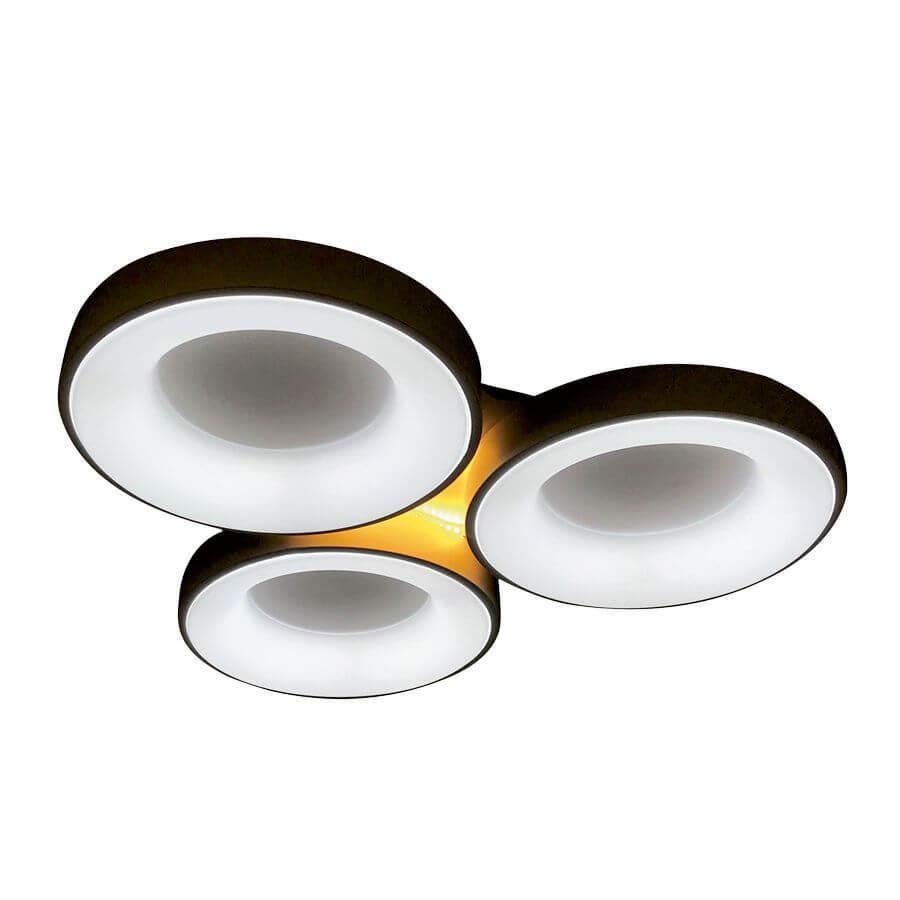 Потолочный светильник Ambrella light FG2071 WH 144W+10W D750*700, LED, 154 Вт led мини диммер радио 72 144w 3 кнопки 12v 24v