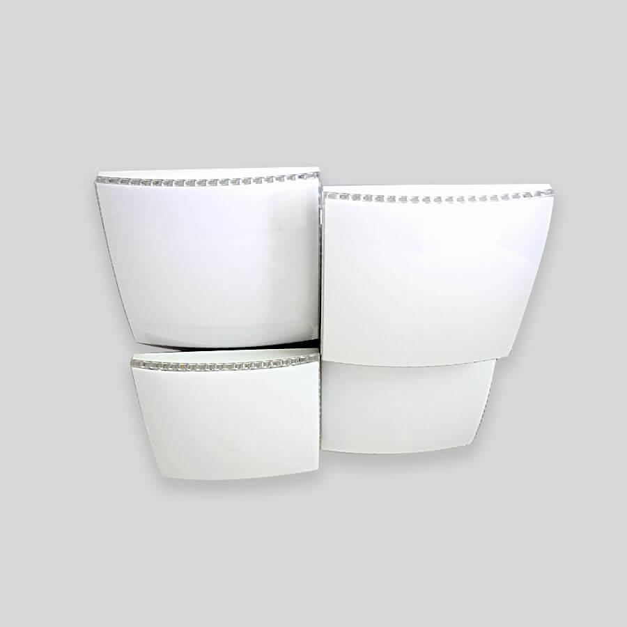 Фото - Потолочный светильник Ambrella light FP2324 WH 128W D480*480, LED, 128 Вт светильник ambrella gx53 led g444 wh ww
