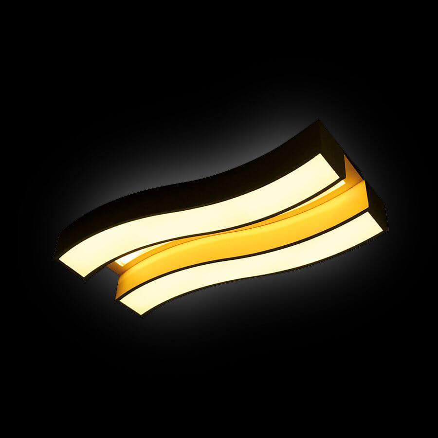 Фото - Потолочный светильник Ambrella light FP2422 WH 60W+24W D690*300, LED, 84 Вт светильник ambrella gx53 led g444 wh ww