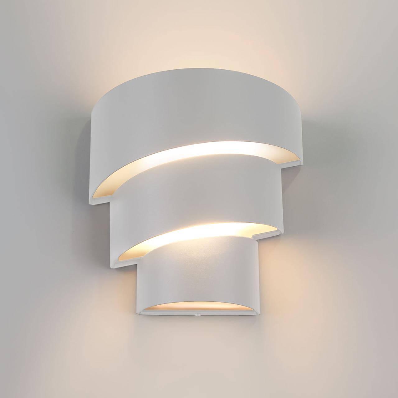 Уличный светильник Elektrostandard 4690389116025, LED уличный настенный светодиодный светильник elektrostandard 1605 techno led sokar графит 4690389086038