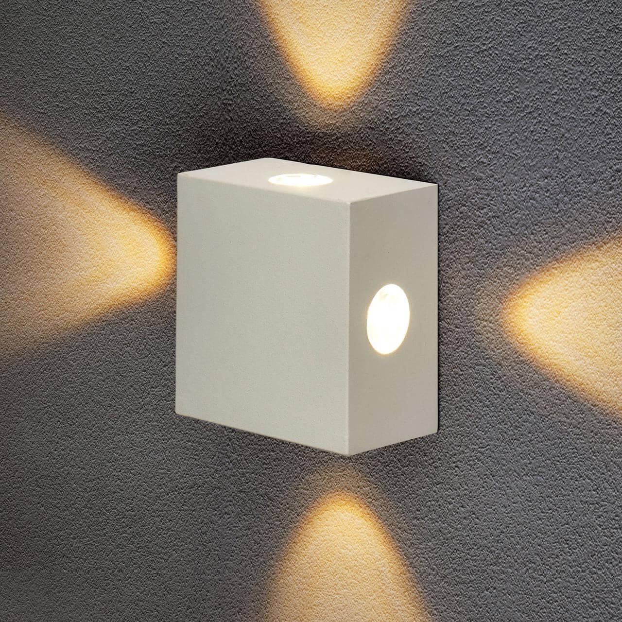 Уличный светильник Elektrostandard 4690389116391, LED уличный настенный светодиодный светильник elektrostandard 1605 techno led sokar графит 4690389086038