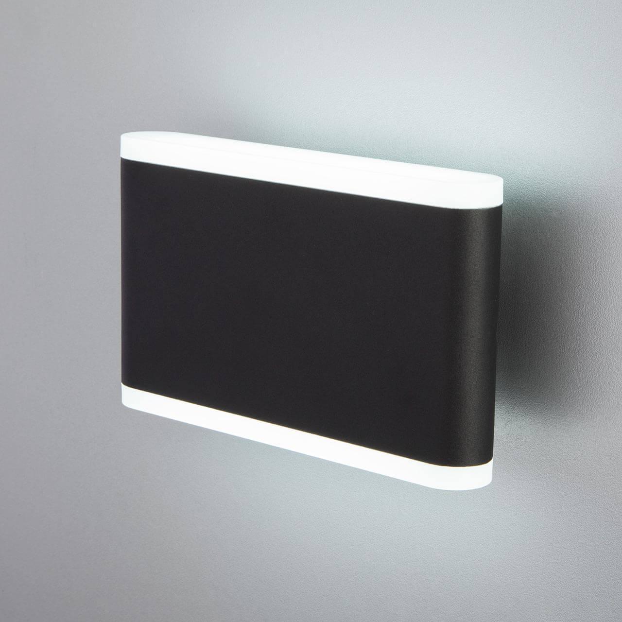 Уличный светильник Elektrostandard 4690389128073, LED уличный настенный светодиодный светильник elektrostandard 1605 techno led sokar графит 4690389086038