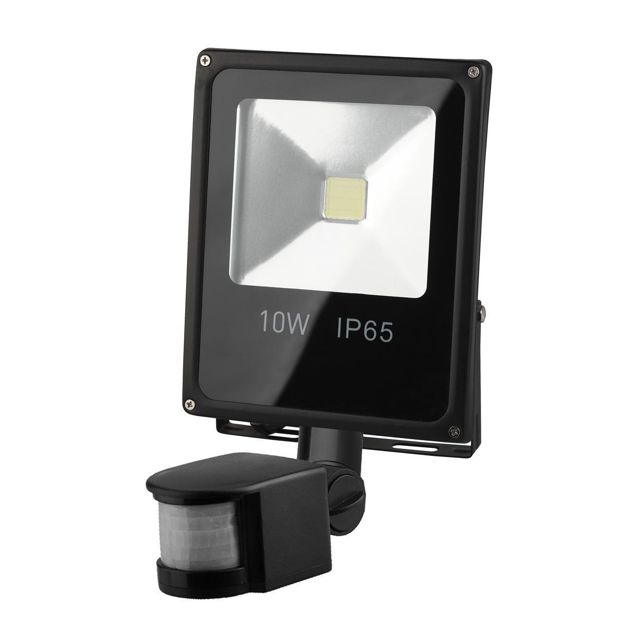 Прожектор Эра LPR-10-6500K-M-SEN, 10 Вт