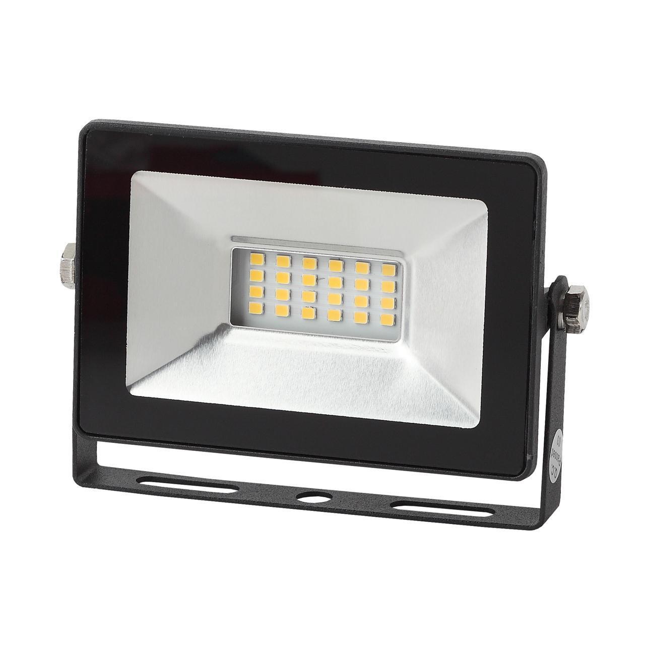 Прожектор Эра LPR-20-6500K SMD Eco Slim, 20 Вт прожектор эра 30 вт