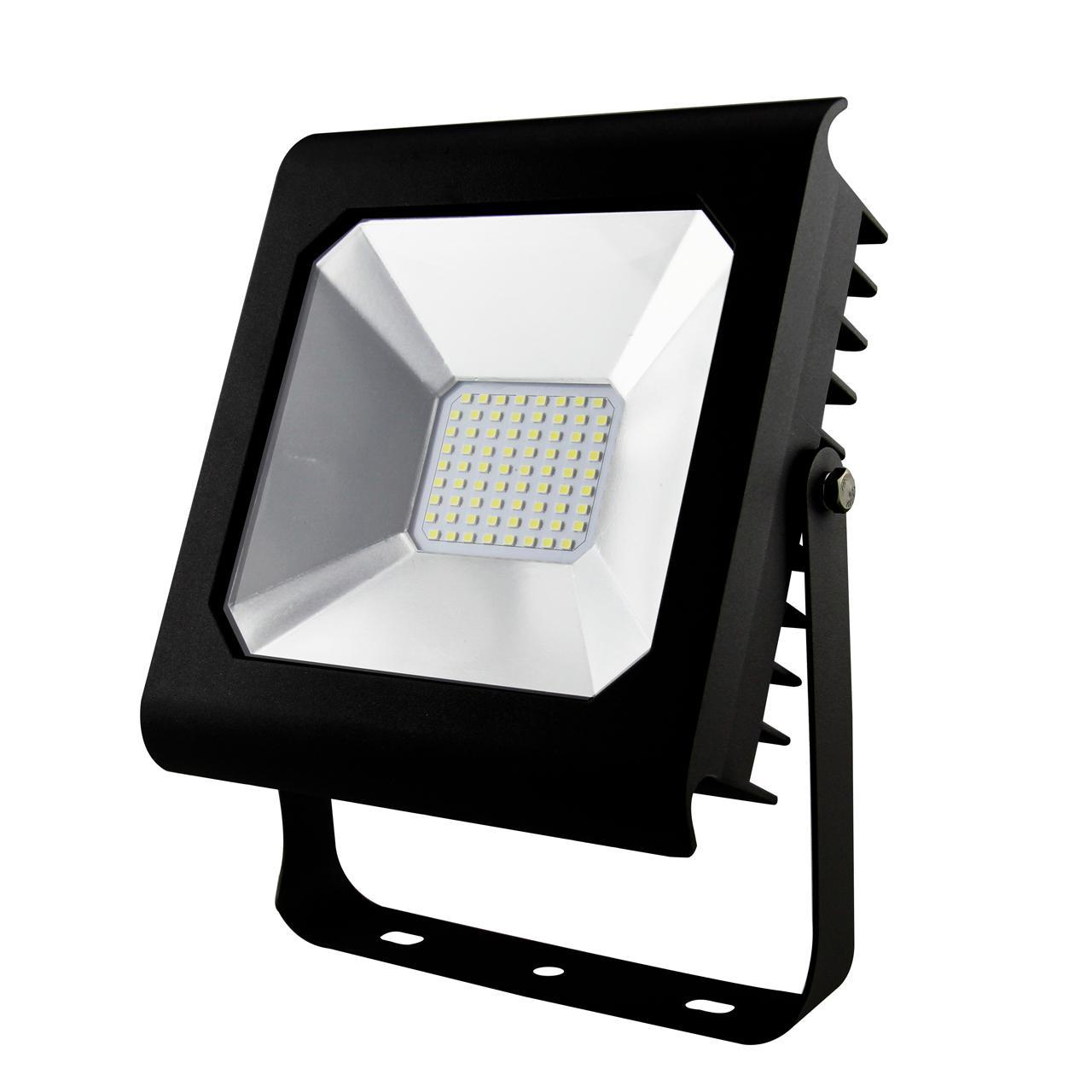 Прожектор Эра LPR-50-6500K-M SMD PRO, 50 Вт прожектор светодиодный эра lpr 50 4000к м smd 8 96