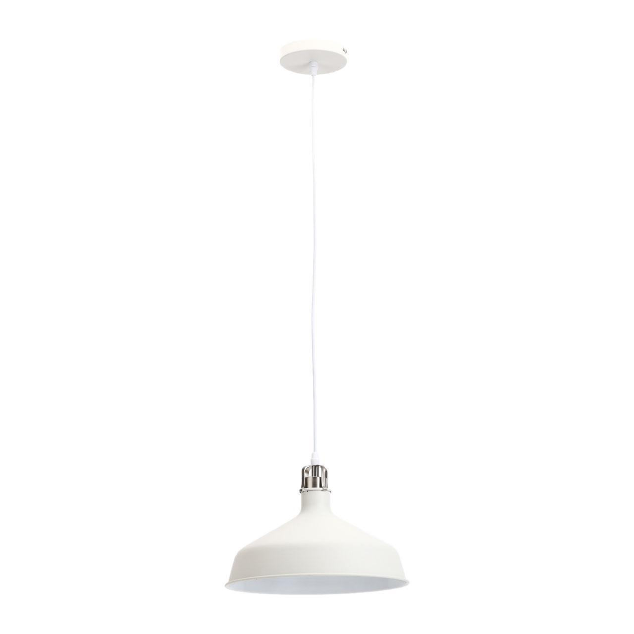 Подвесной светильник Эра PL2 WH/SN, E27, 60 Вт цены