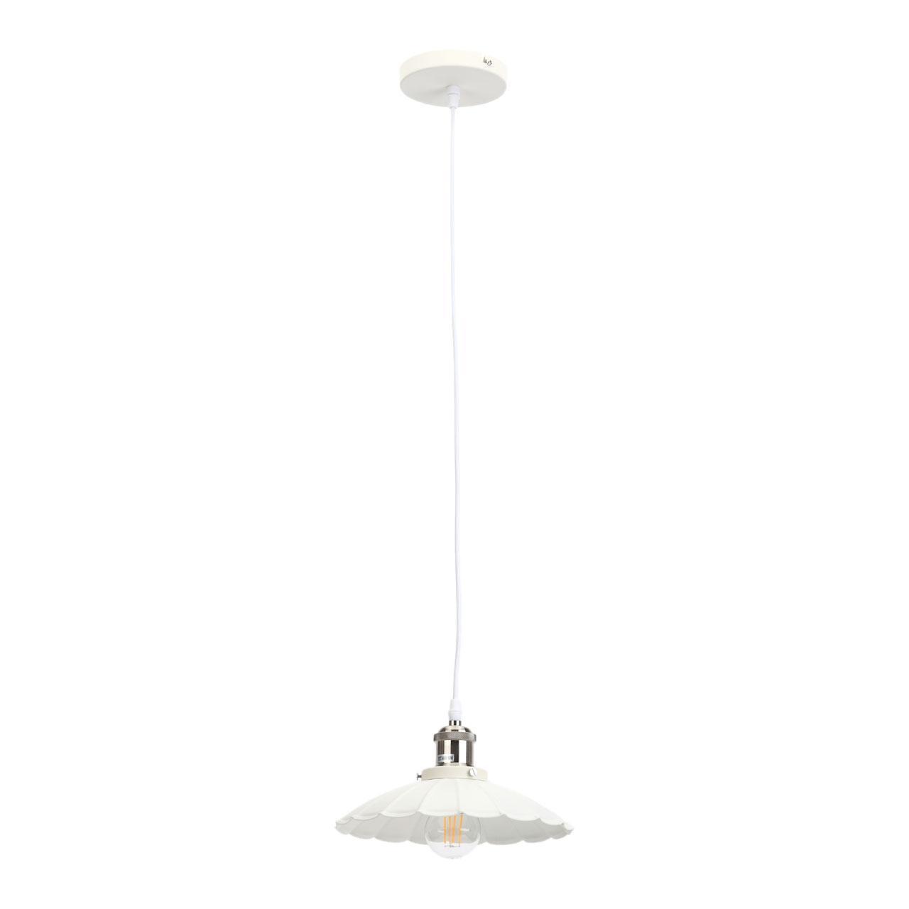 Подвесной светильник Эра PL3 WH/SN, E27, 60 Вт цены