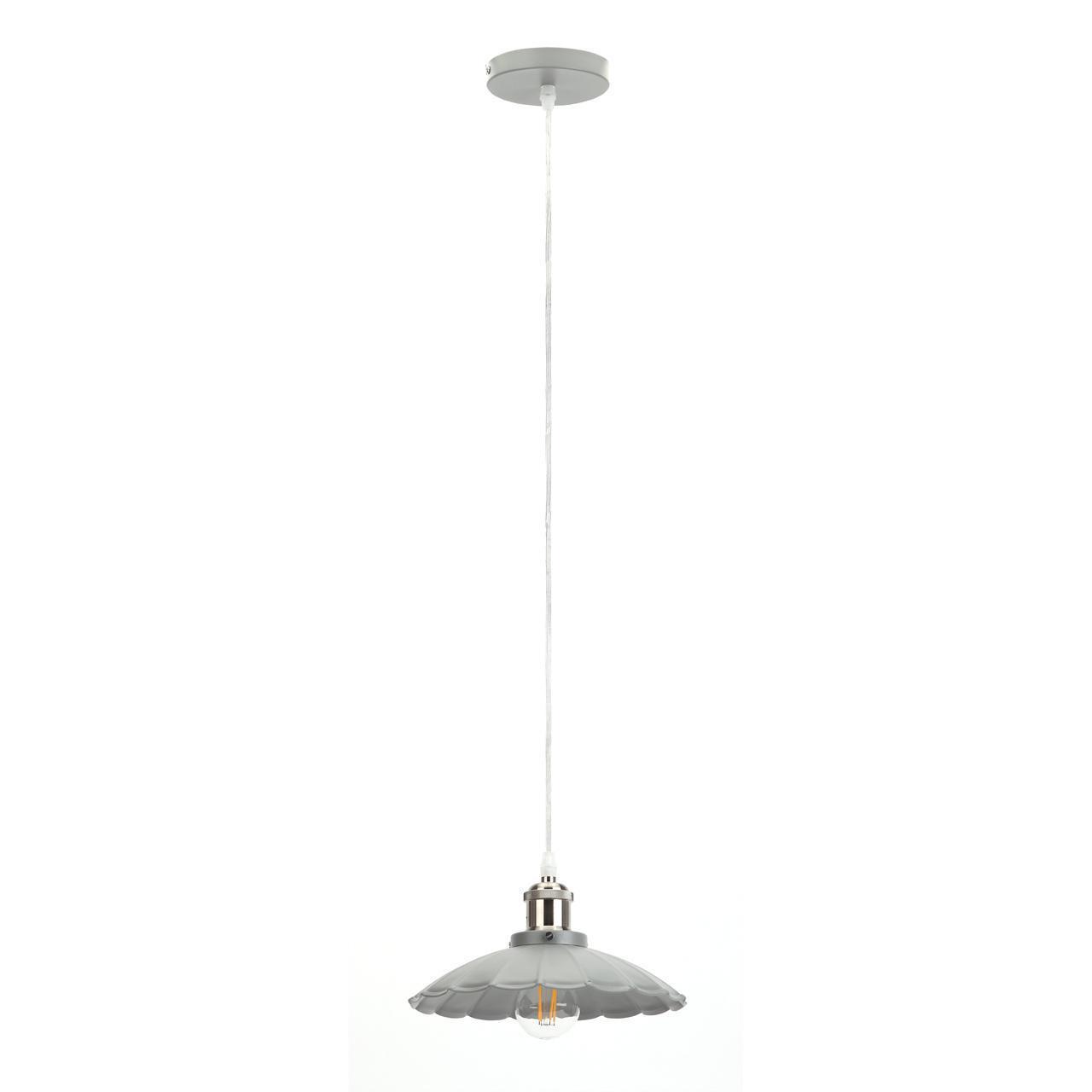 Подвесной светильник Эра PL3 GR/SN, E27, 60 Вт цены