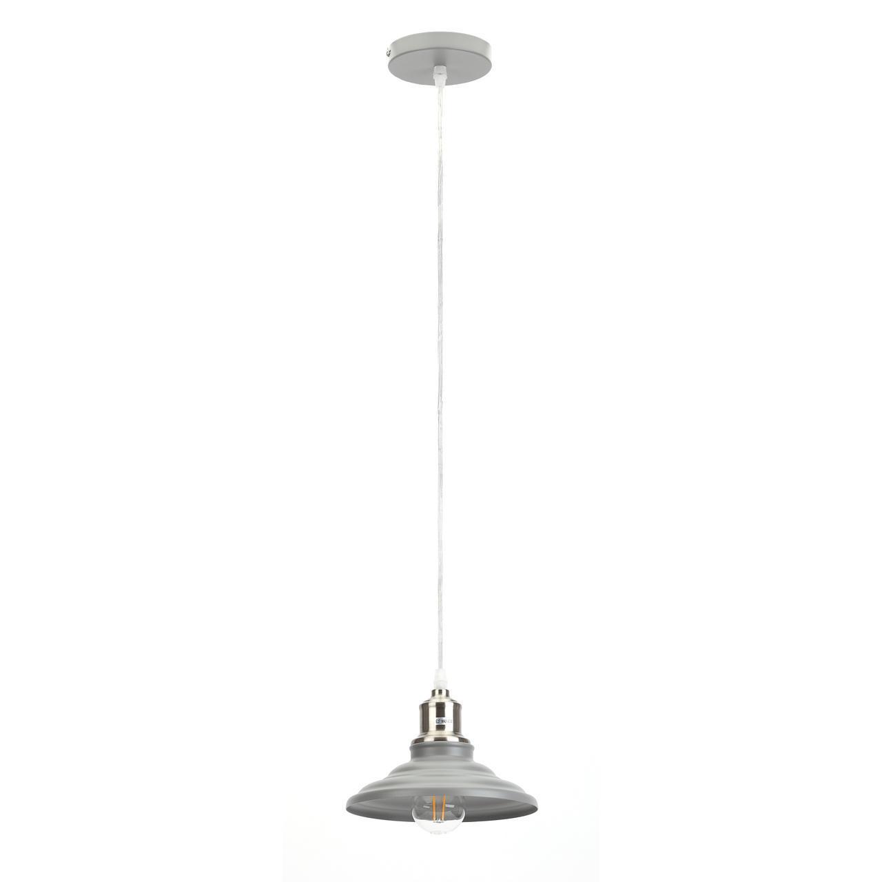Подвесной светильник Эра PL4 GR/SN, E27, 60 Вт цены