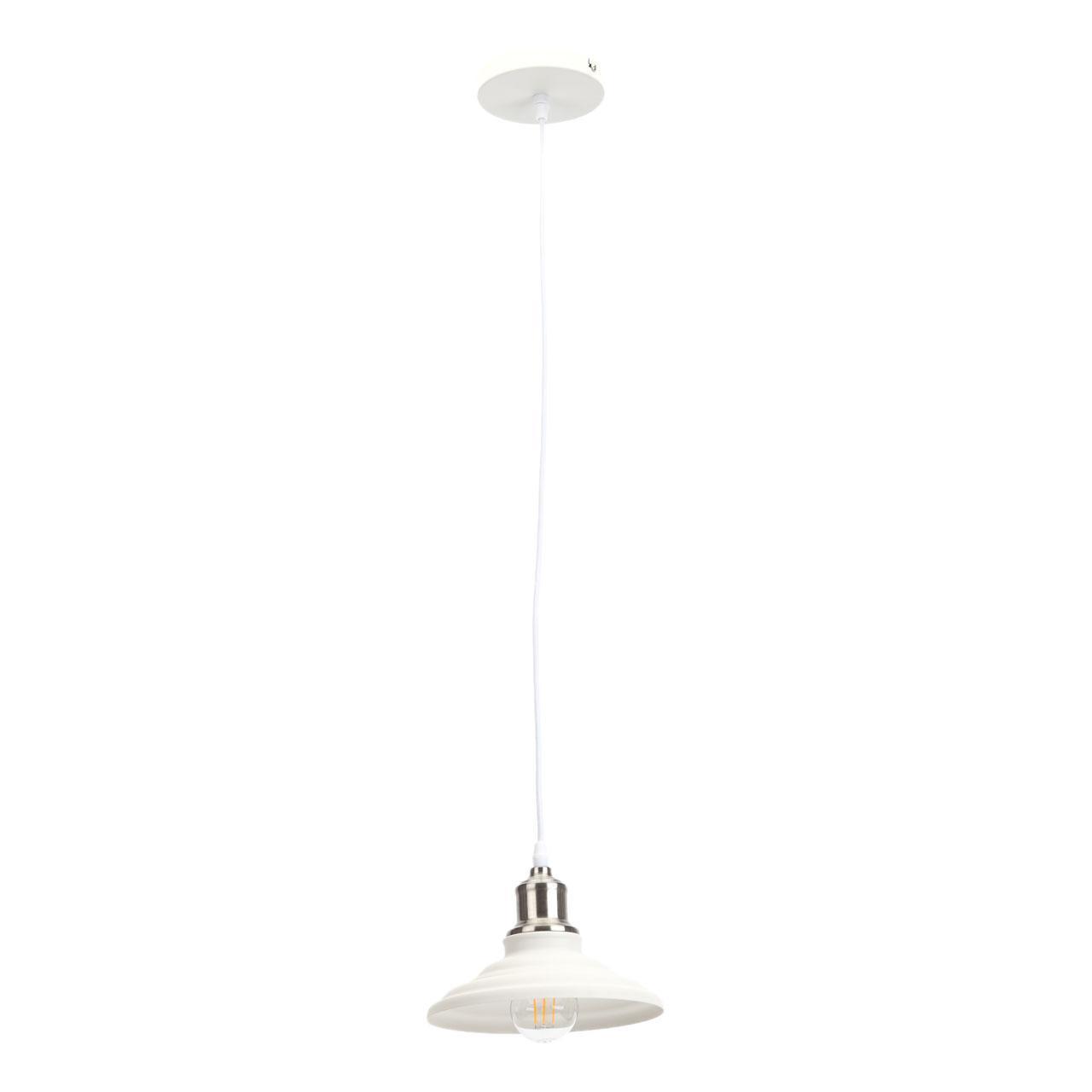 Подвесной светильник Эра PL4 WH/SN, E27, 60 Вт цены