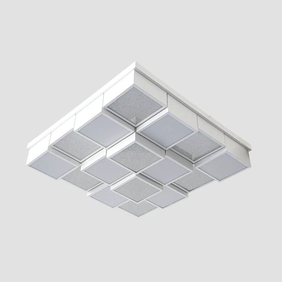 Фото - Потолочный светильник Ambrella light FS1550 WH/SD 192W D715*715, LED, 192 Вт 192w