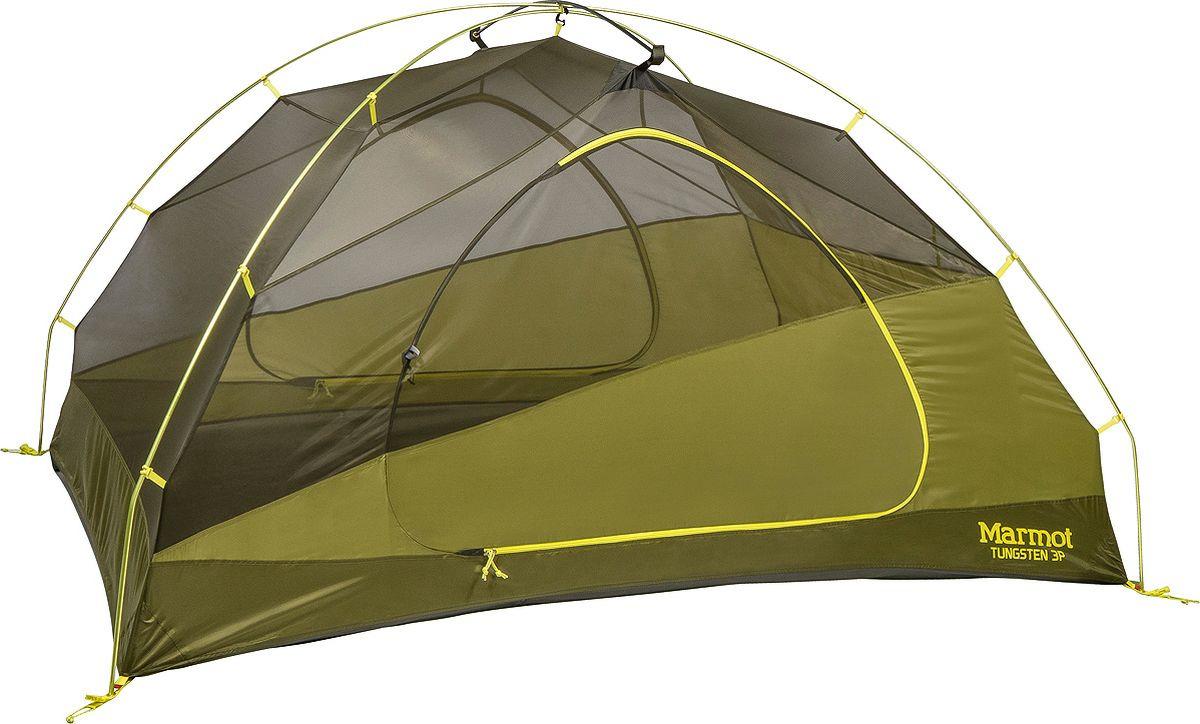 Палатка Marmot Tungsten 3P, 29200-4200-ONE, зеленый