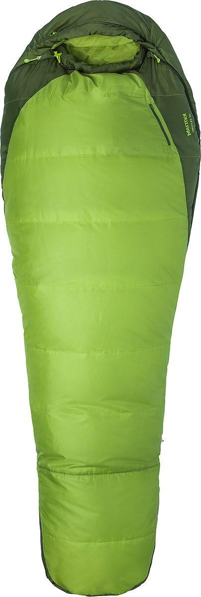 Спальный мешок Marmot Trestles 30, 23520-4430-RZ, зеленый спальный мешок marmot trestles 0 long