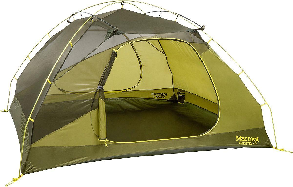 Палатка Marmot Tungsten 4P, 29220-4200-ONE, зеленый