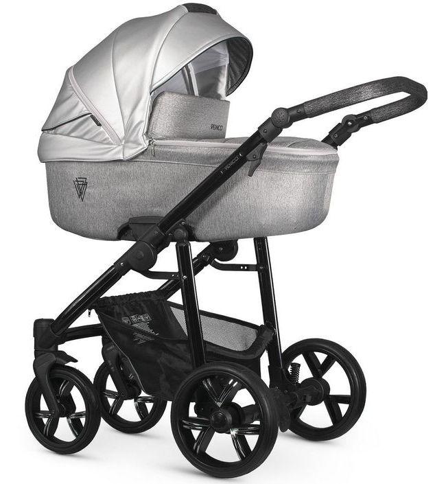 Детская коляска 2 в 1 Venicci Valdi Silver