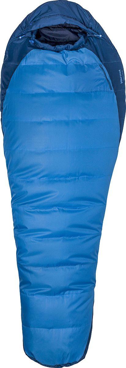 Спальный мешок Marmot Trestles 15, 23530-2958-LZ, синий спальный мешок marmot trestles 0 long