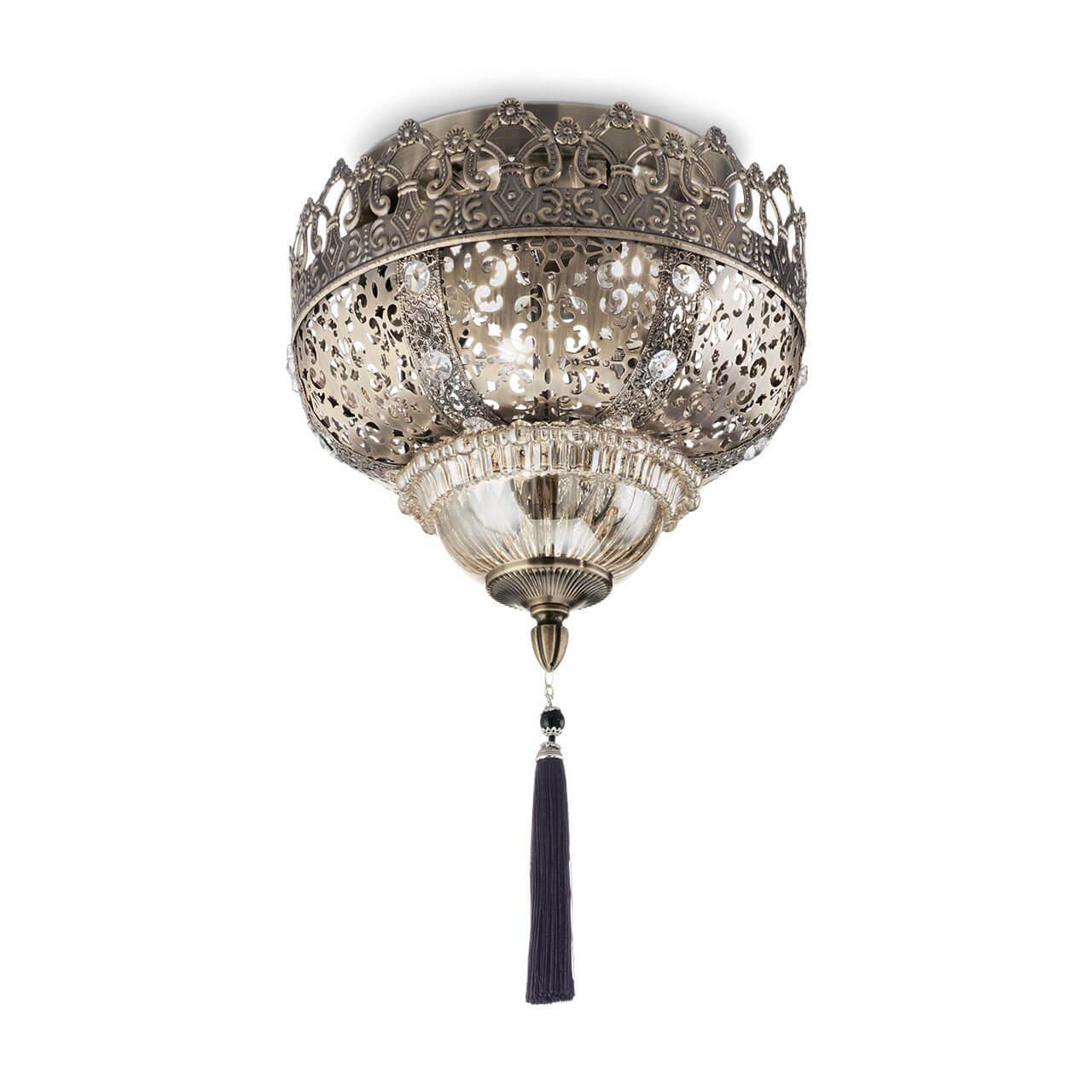 Фото - Потолочный светильник Ideal Lux Harem PL3, E27, 40 Вт спот ideal lux faro faro pl3